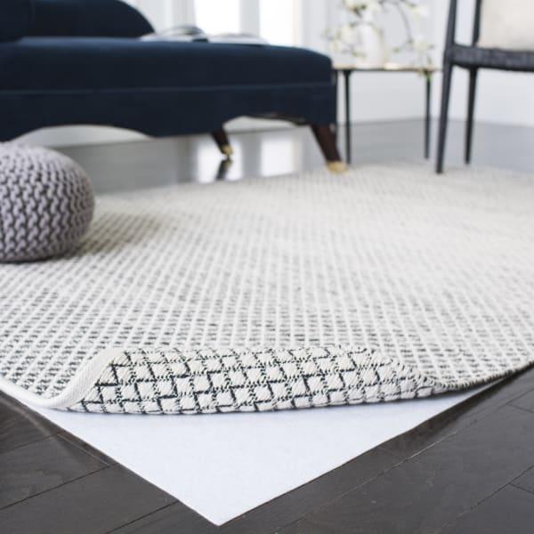 Safavieh White Polyester Rug 8' x 10'