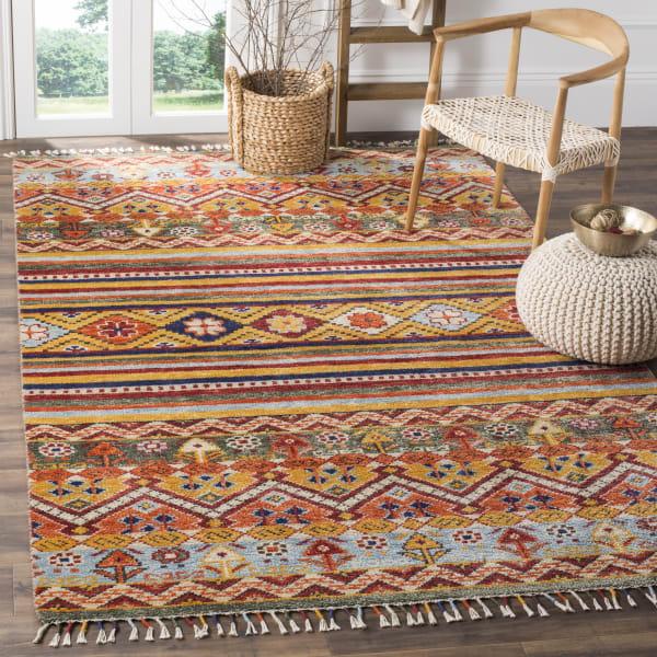 Multicolored Wool Rug