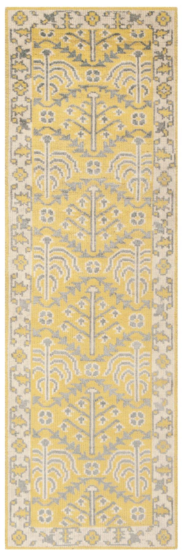 Safavieh Yellow Wool Rug