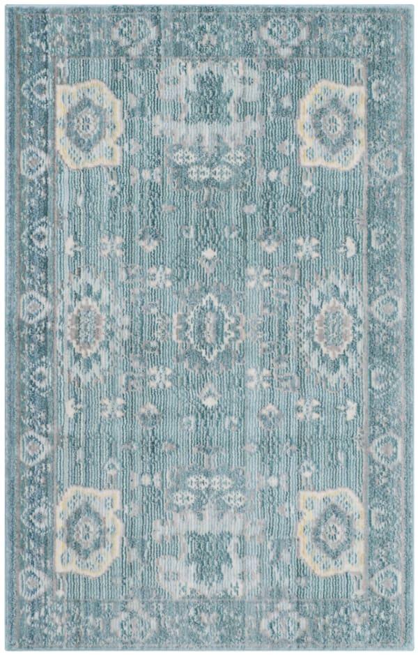 Safavieh Blue: Sky Polyester Rug