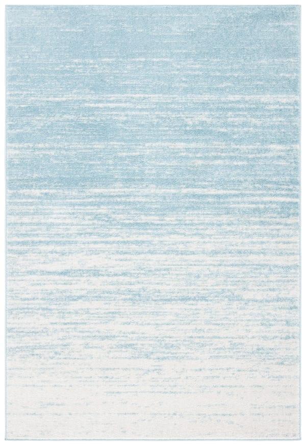 Blue Polypropylene Rug