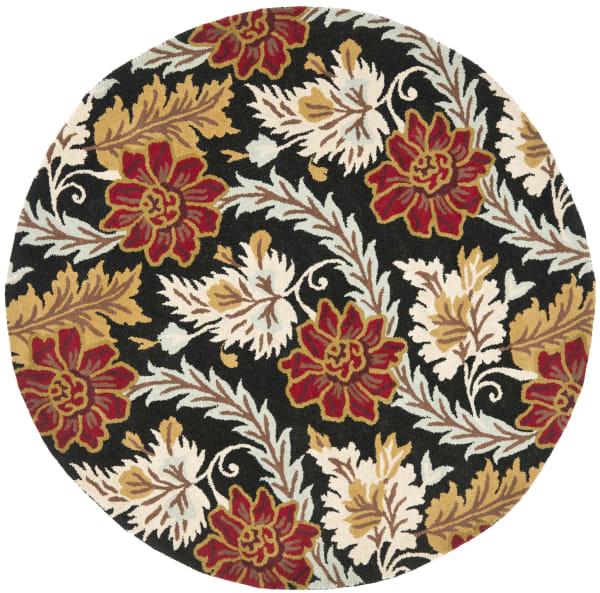 Safavieh Black Wool Rug