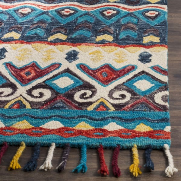 Safavieh Blue Wool Rug