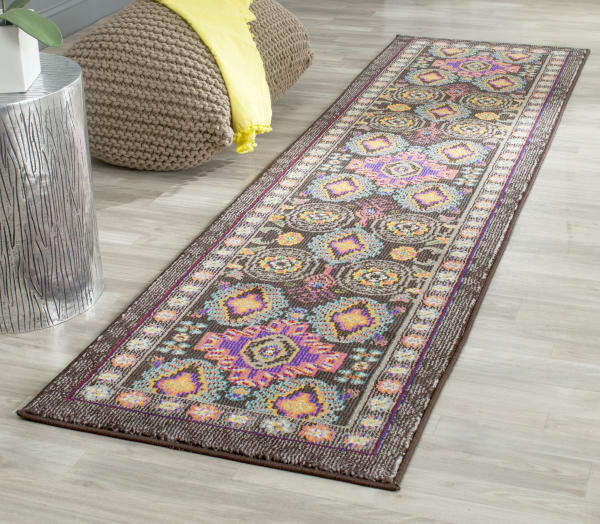 Safavieh Brown Polypropylene Rug