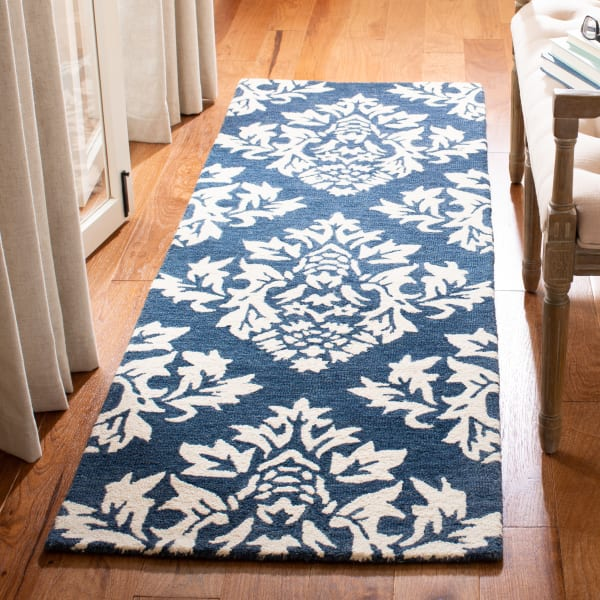 Essence Blue Wool Rug