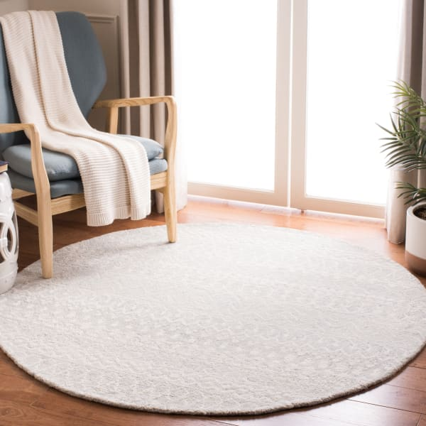 Safavieh Essence Blue Wool Rug 5' Round