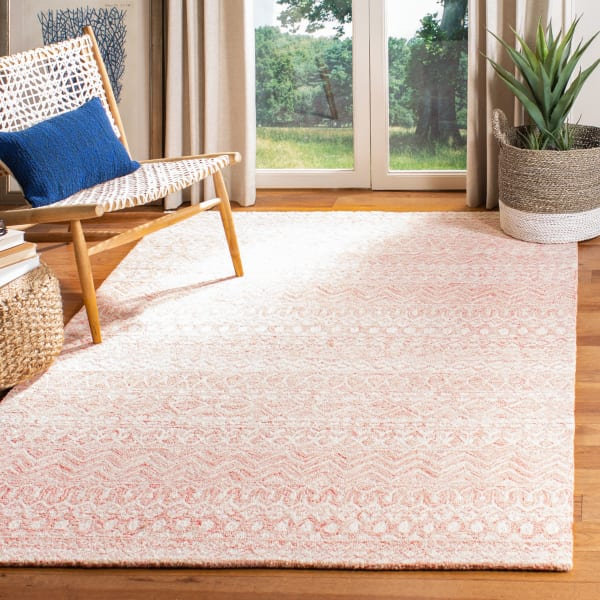 Safavieh Essence Pink Wool Rug 4' x 6'