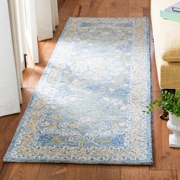 Safavieh Blue Wool Rug