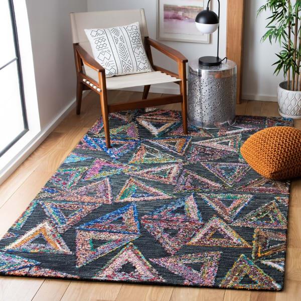 Safavieh Vail Green & Black Wool Rug