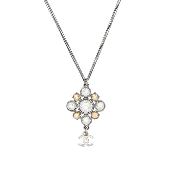 Chanel CC Logo Necklace 49cm
