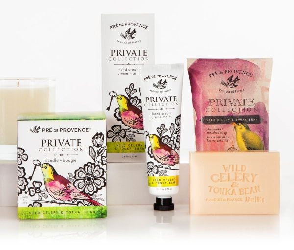 Private Collection Wild Celery & Tonka Bean Hand Cream