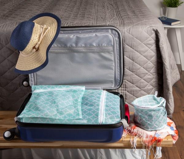 Aqua Lattice Set F Mesh Laundry Bag (Set of 6)
