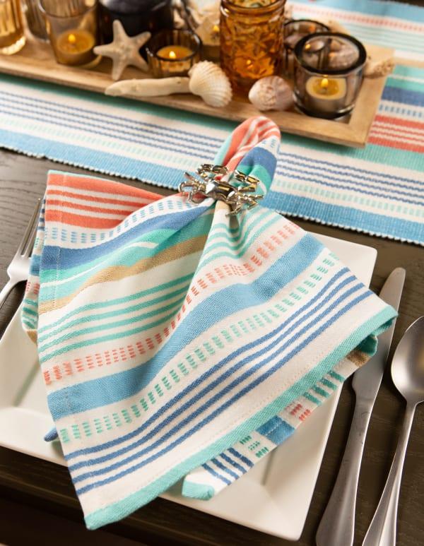 Seashore Stripe Napkin (Set of 6)