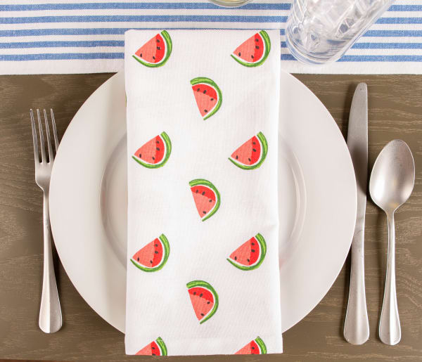 Watermelon Print Napkin (Set of 6)