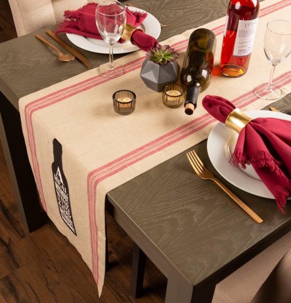 Wine and Sunshine Table Runner 14x72