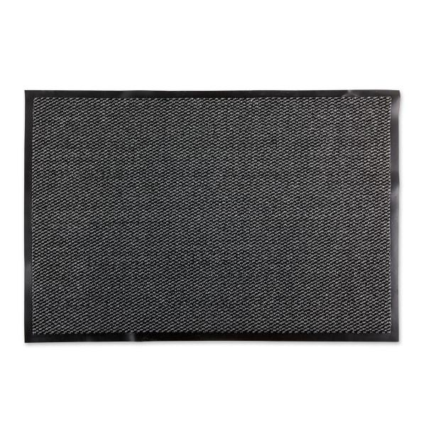 Walk Off Utility Doormat 30x48 Gray/Black