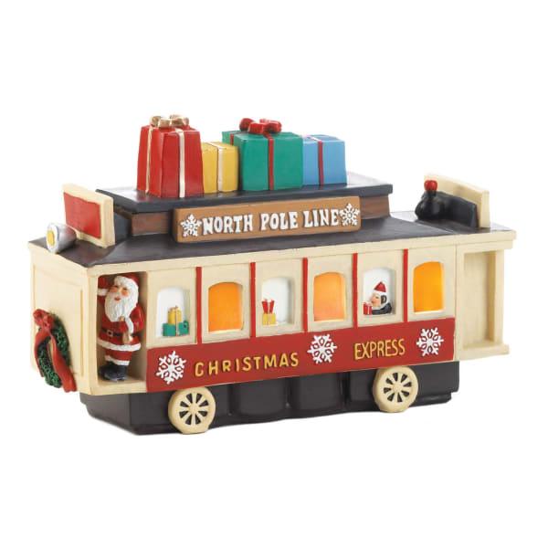 Light Up Vintage Christmas Train