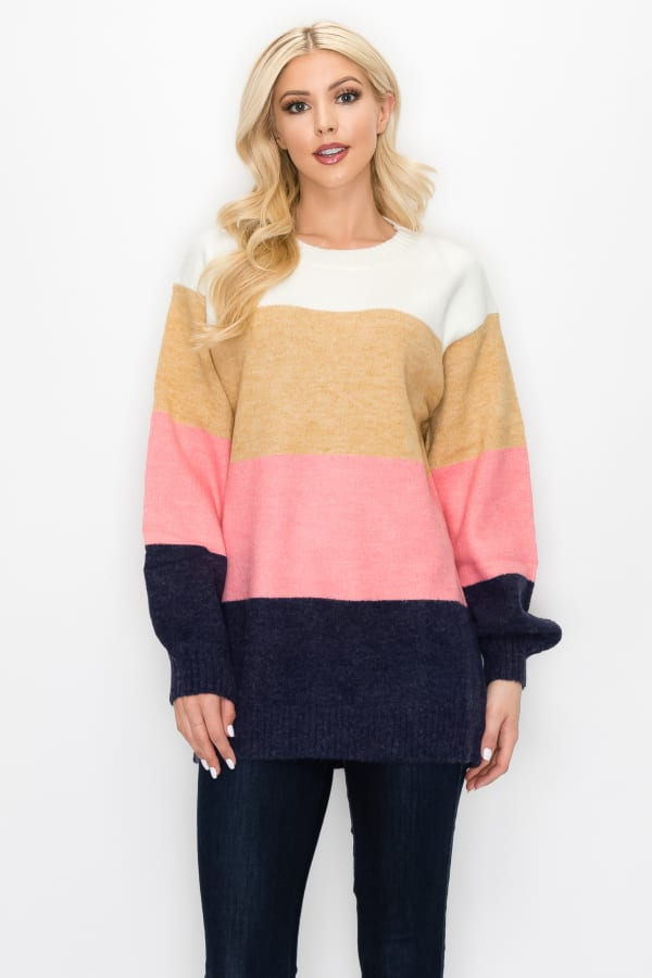 Skyla Colorblock Sweater