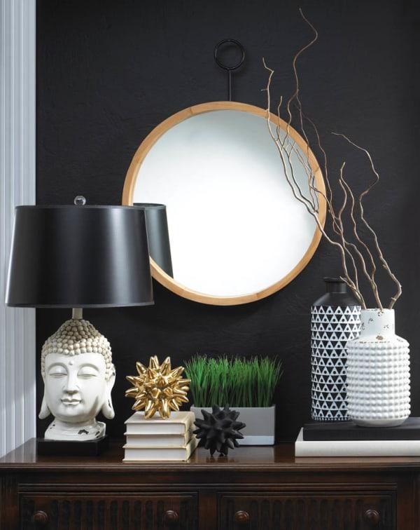 Mazara Black And White Vase