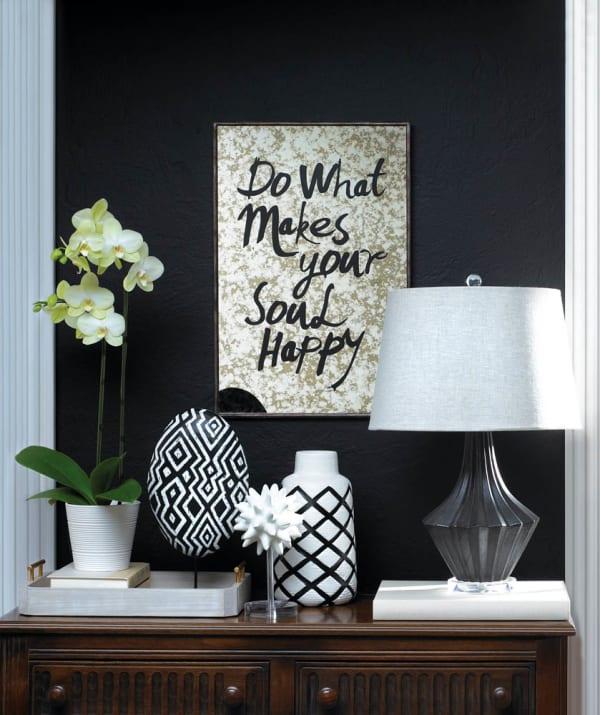 Mason Black and Grey Table Lamp