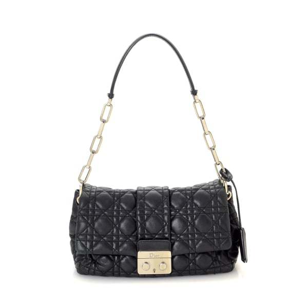 Dior Cannage New Rock Chain Shoulder Bag