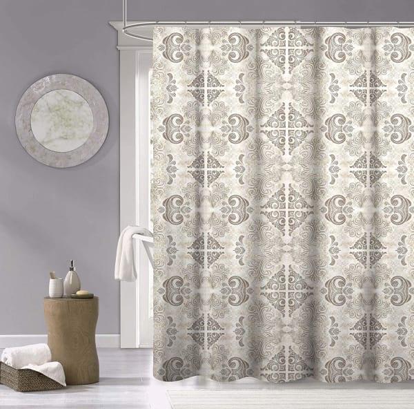 Dainty Home Mosaic Shower Curtain