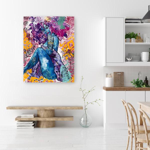Lfe Canvas Wall Art