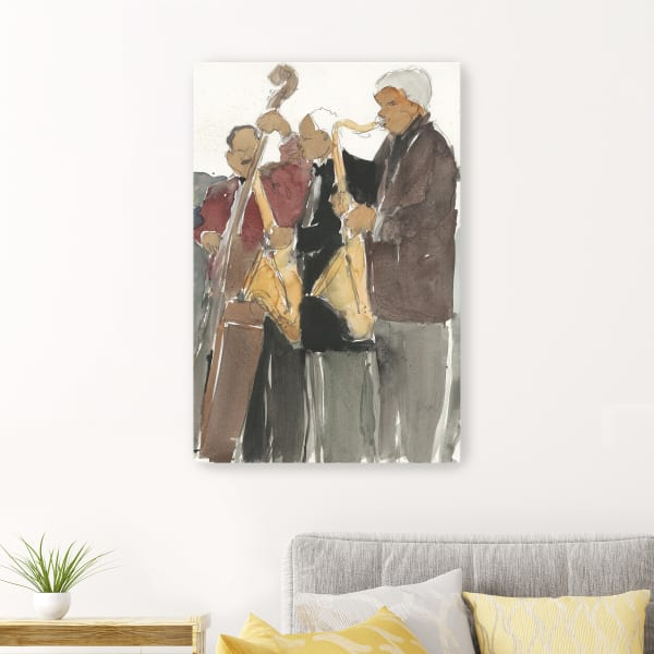 All Together Now II Canvas Wall Art