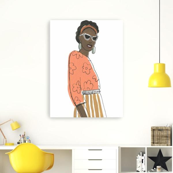 Fashion Vignette III Canvas Wall Art