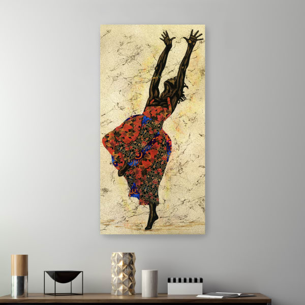 Her Freedom Canvas Wall Art