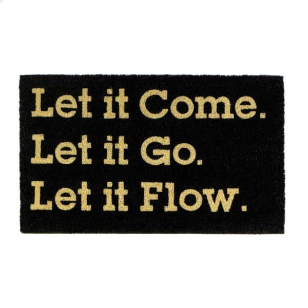 Nala Let It Come Coir Doormat
