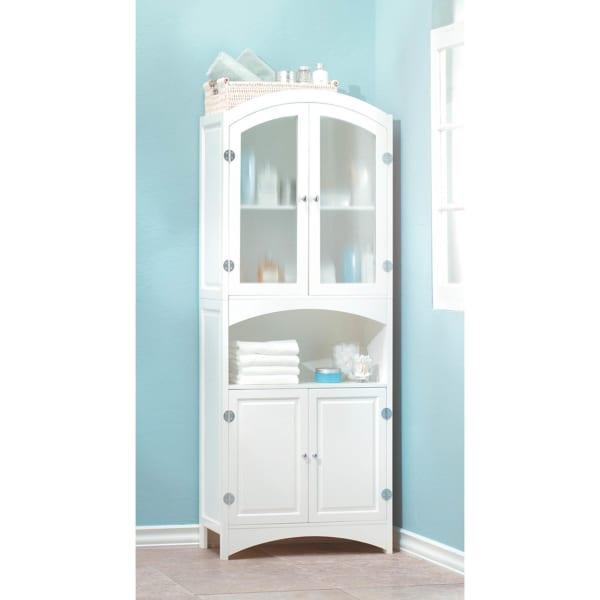 Freestanding Bathroom Storage Cabinet With Shelf