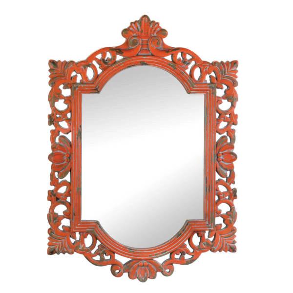 Vintage Emily Coral Mirror
