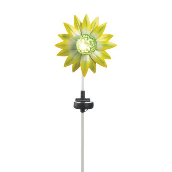 Green Flower Solar Stake