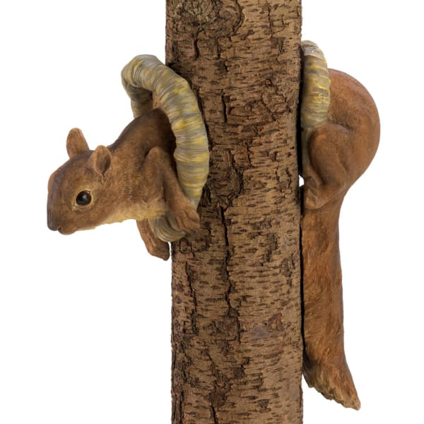 Woodland Squirrel Tree Decor Figurine