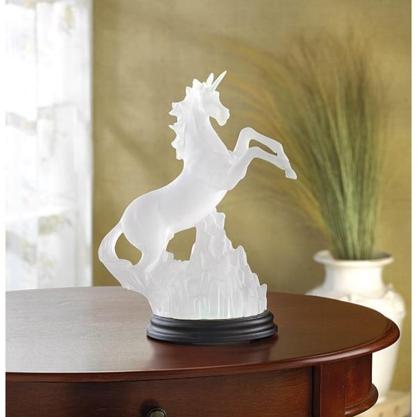 Unicorn Figurine With Light
