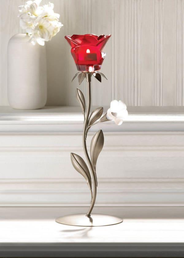 Symbol Of Love Candleholder