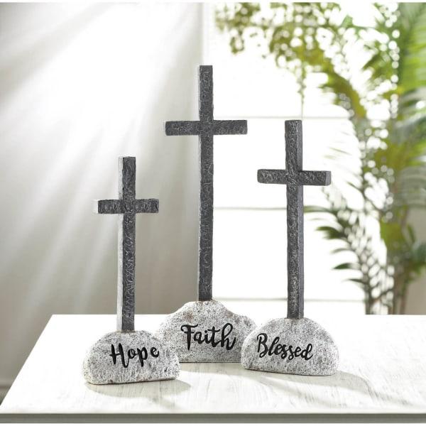 Faith Cross Statue