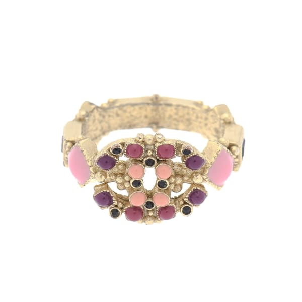 Chanel Gripoix Ring US Size 6