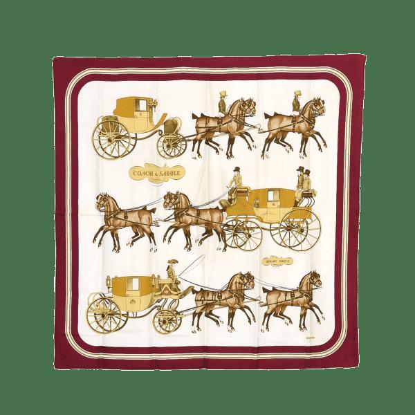 Hermes Coach & Saddle Scarf