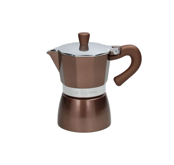 Tognana Coffee Star 3C Gloss & Glam Coffee Maker GREY