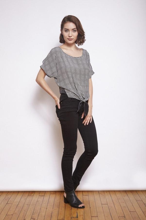 Dora Landa Cartwright Silk Top