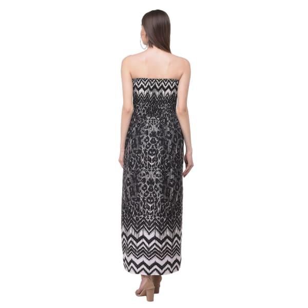 Tube Long Strapless Dress