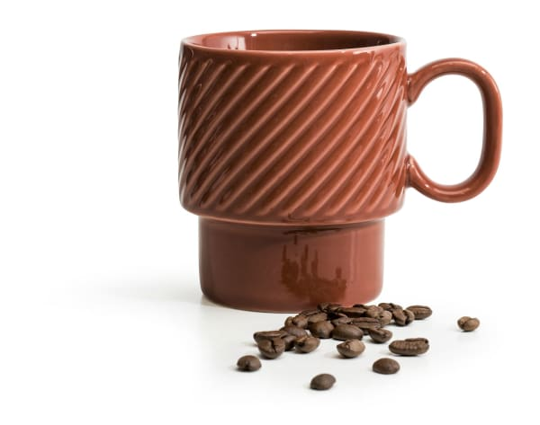 Sagaform Coffee & More Mug, Terracotta