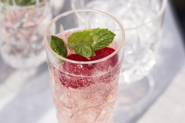 Sagaform Picnic Champagne Glass, 4 Pack