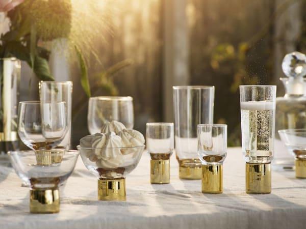 Sagaform Club Gold - Shot Glass, 2 pack