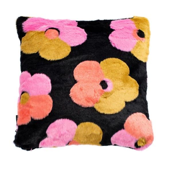 Flower Child Fur Pillow