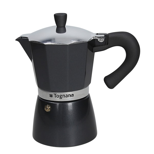 Tognana Coffee Star 6C Gloss & Glam Coffee Maker GREY