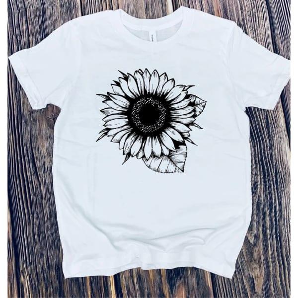 Sunflower Kids Graphic Tee