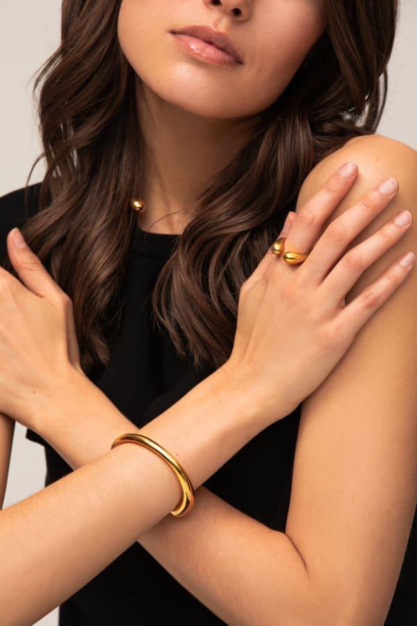 Sabi Outline Cuff Bracelet